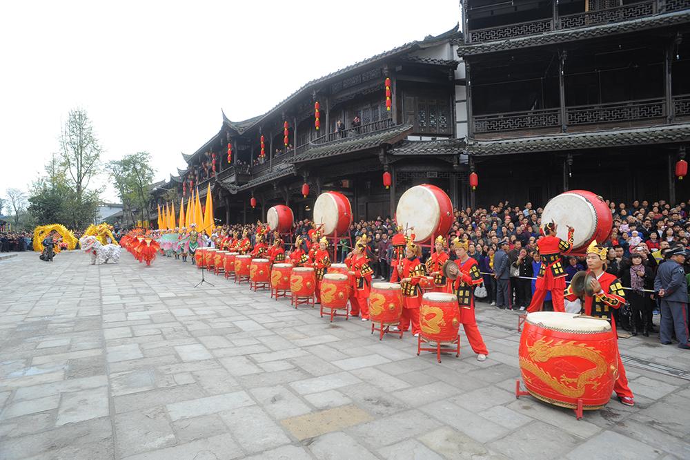 街子古鎮1 四川省成都 小林直行 写真/カメラマン