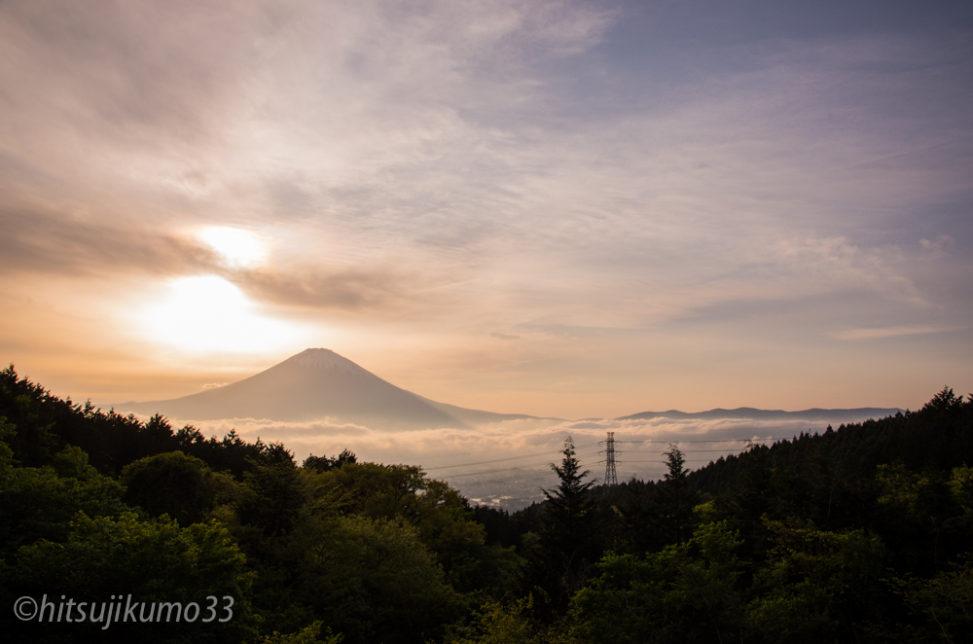 乙女峠 富士山