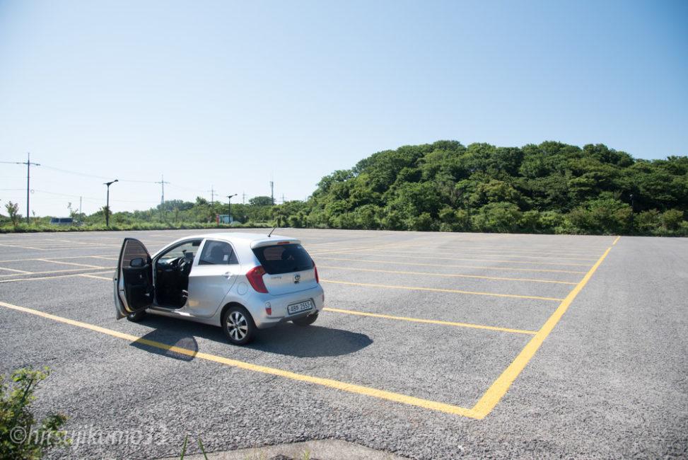 石文化公園 駐車場