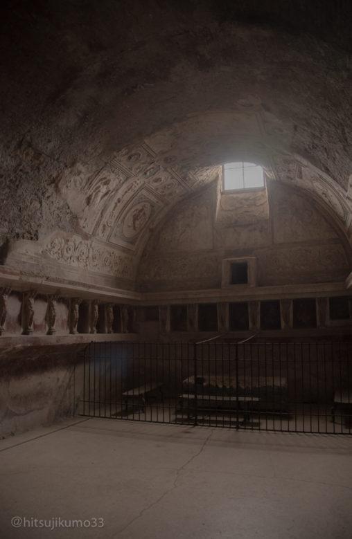 ポンペイ遺跡 浴場