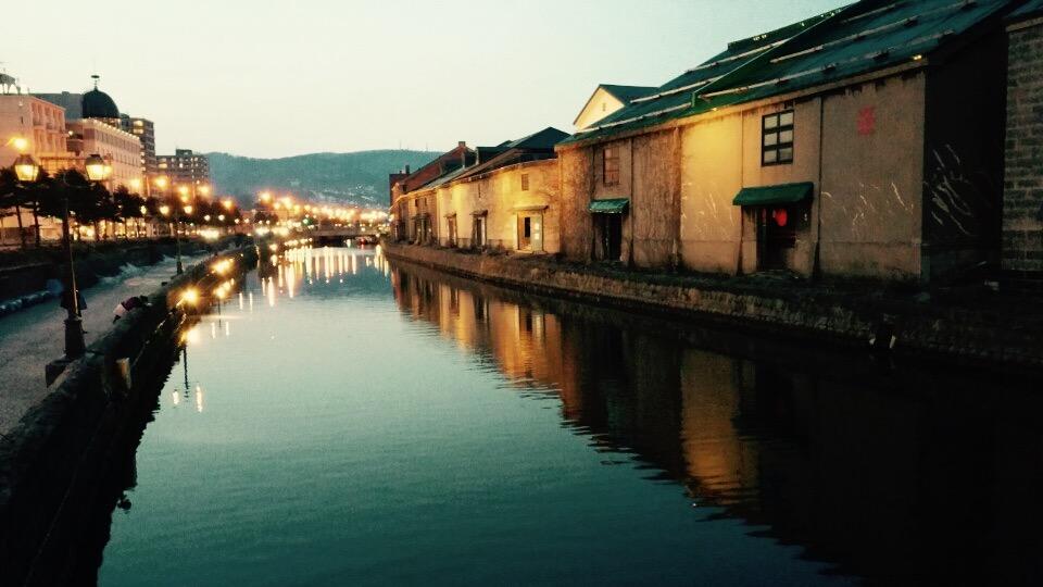 小樽運河 スマホ